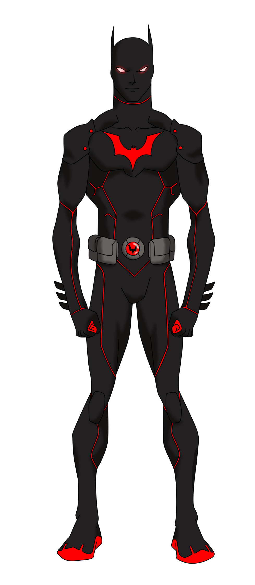 Batman beyond yj styled by bobkitty23 on deviantart