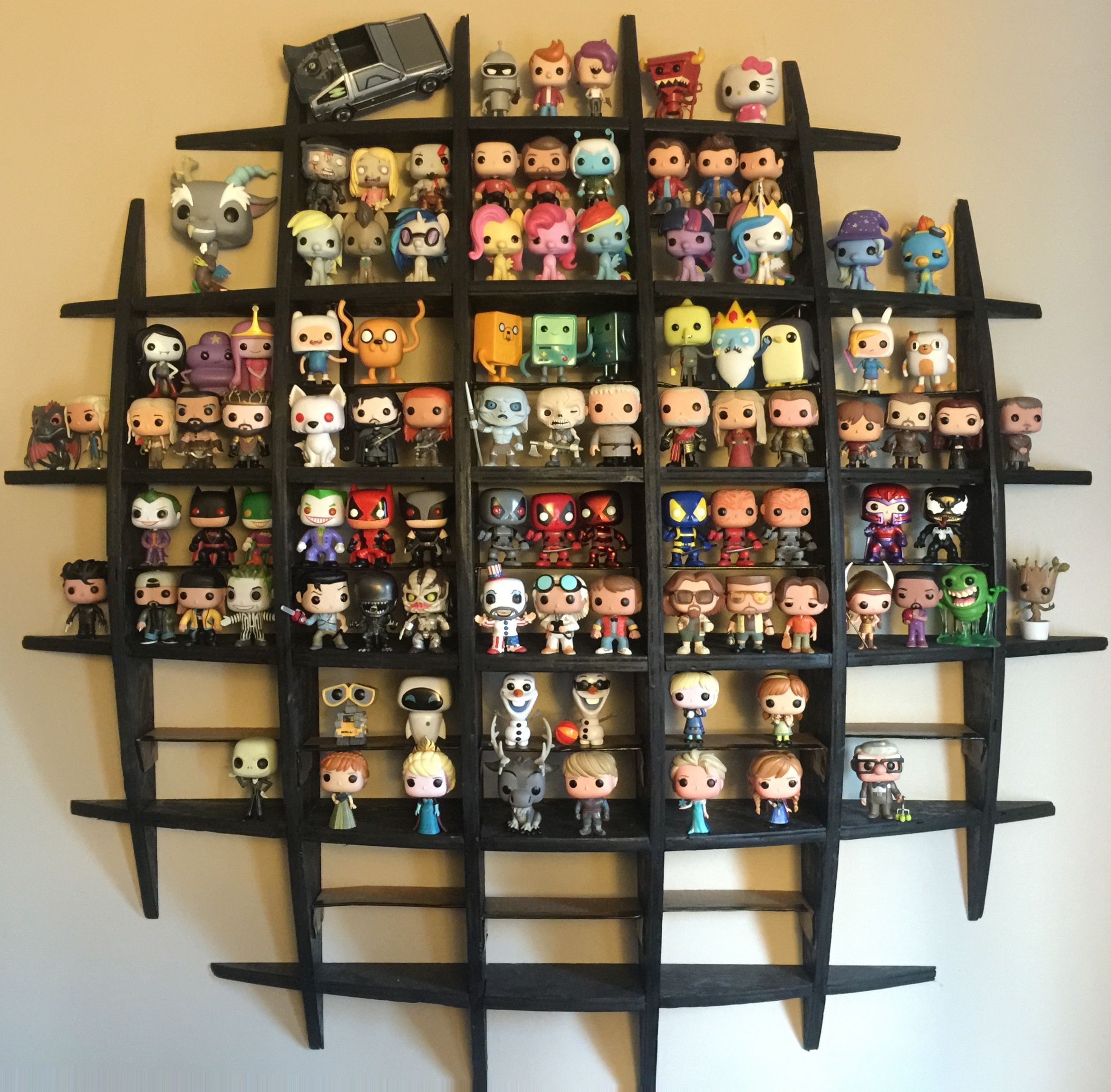 Funko Pop Collection Pop Collection Funko Pop Shelves