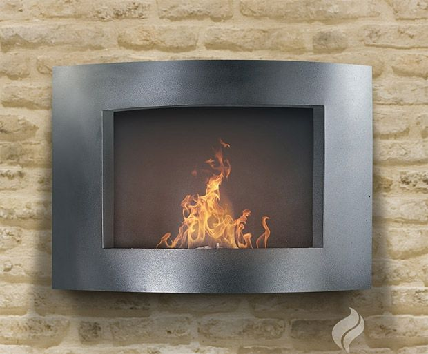 pureflame wall mounted fireplaces perfect for a tiny home tiny