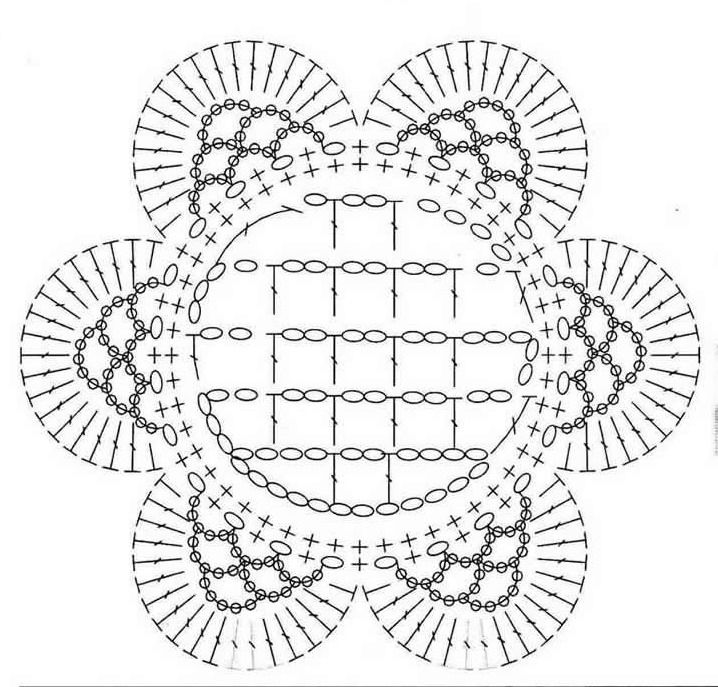 Crochetpedia: Patrones 2D flores del ganchillo gratis | Croché ...