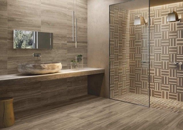 salle de bain moderne les tendances actuelles en 55 photos - Salle De Bain Moderne Bois