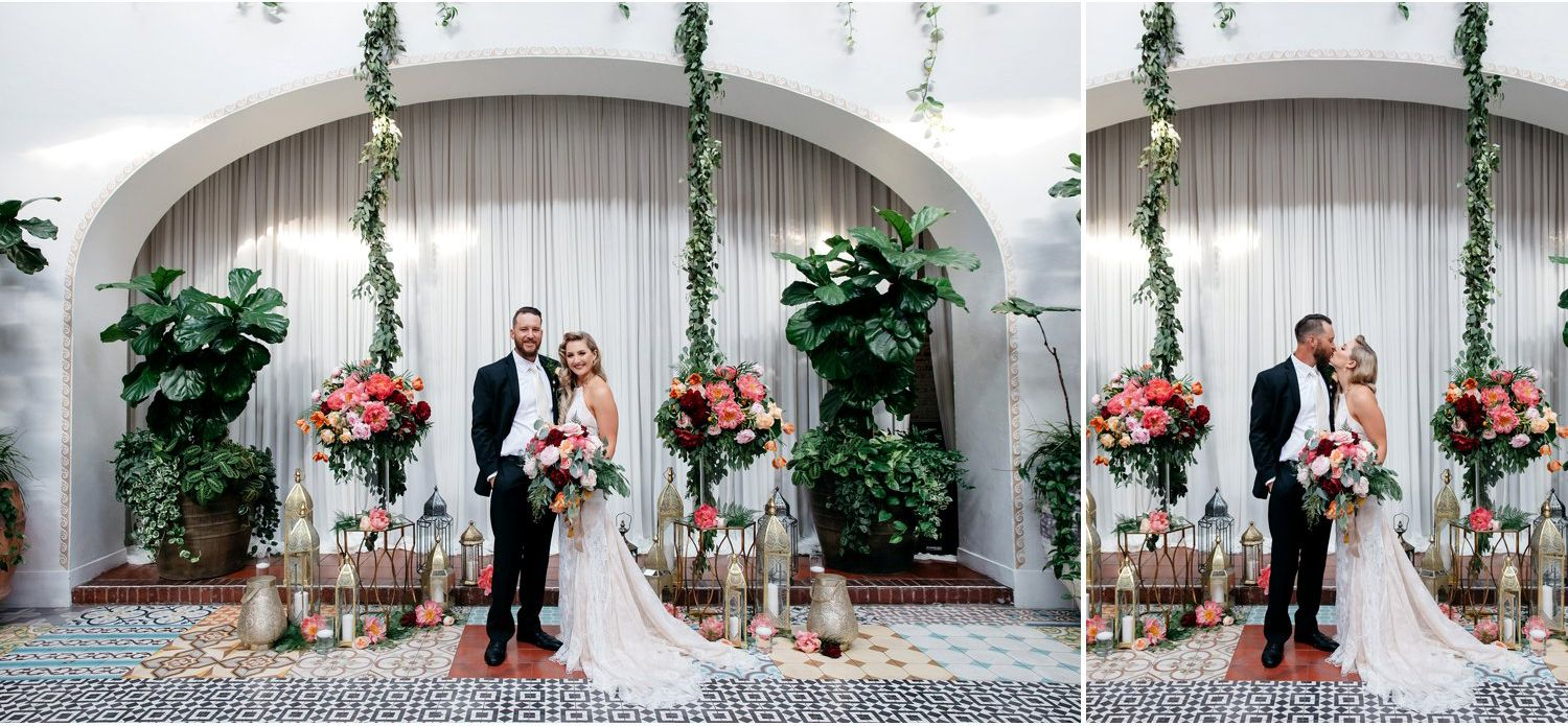 Long beach wedding photographer  Moraccan Vibe Wedding at Ebell Club in Long Beach with Rachel and