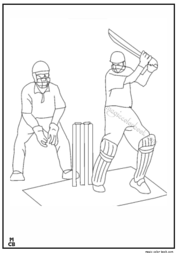 Pin by Magic Color Book on Sport Coloring pages free online | Pinterest
