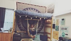 Hammock Under Loft Beds Google Search Hipster Room Indie Room Boho Dorm Room