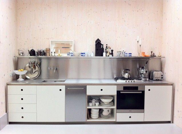 Small industrial-style kitchen House Ideas Pinterest
