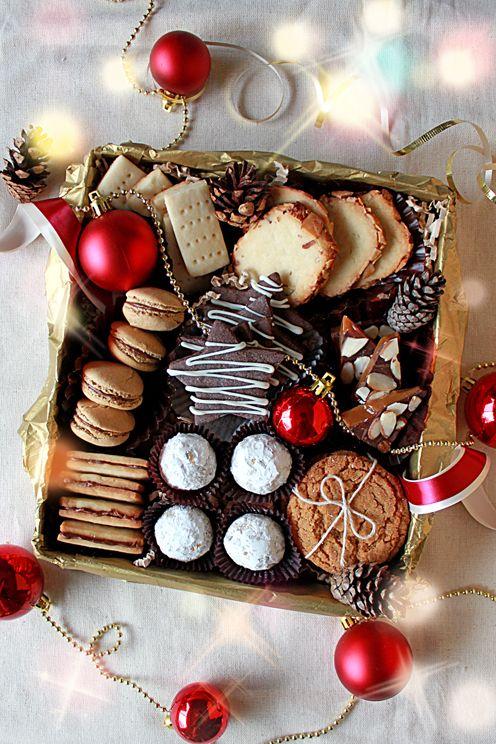 Christmas Cookie Gift Box Christmas Christmas Cookies Gift