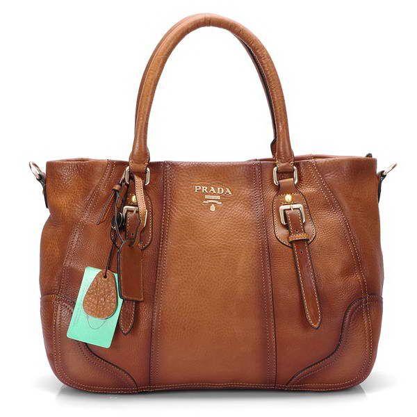 3202edbfb10 Amazing Prada Stylish Leather Bags Brown 001 Authentic   Prada Leather Tote  Bn1795 Black