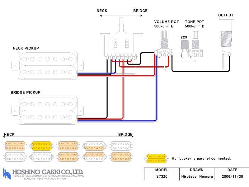 Image Result For Ibanez Rg 7 String Wiring Rhpinterest: Ibanez Humbucker Wiring Diagram At Gmaili.net