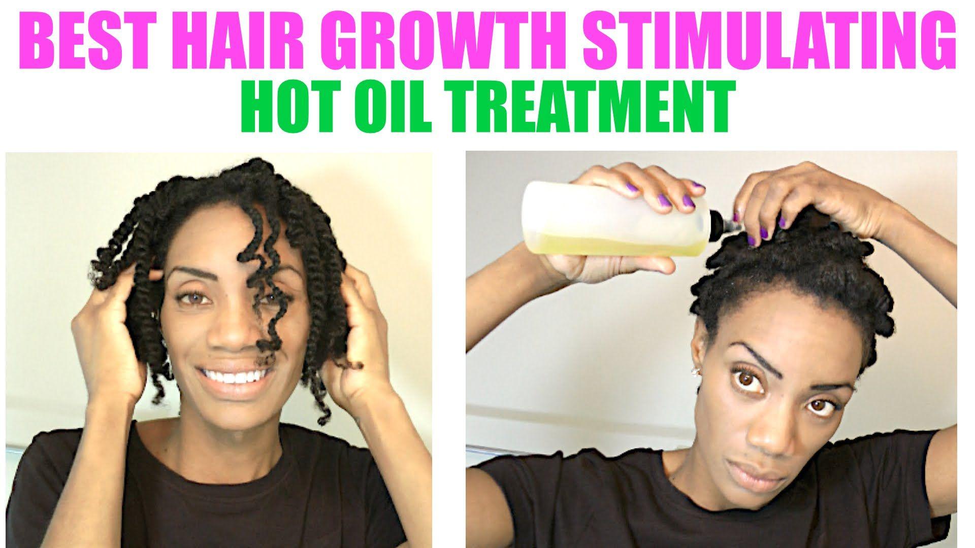 Hair Growth Hot Oil Treatment Damage Loss
