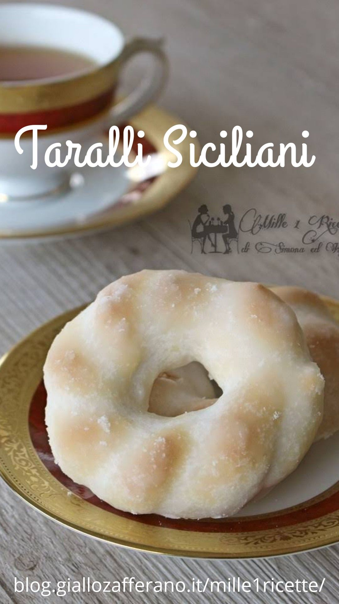 Ricetta Taralli Siciliani.Taralli Siciliani Mille 1 Ricette Ricetta Ricette Ricette Per Biscotti Italiane Ricette Dolci