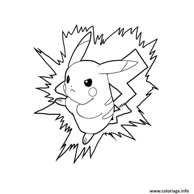 Coloriages Pikachu A Coloriage En Ligne Pokemon Pikachu Quport In
