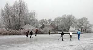 schaatsen op de kanalen