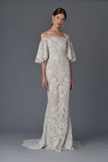 Brautkleid Ärmeln, Hochzeitskleid mit langen Ärmeln, Spitze, elegant ...