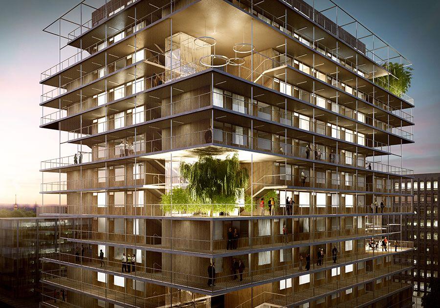 Jean bocabeille architecte projet de logements étudiants et