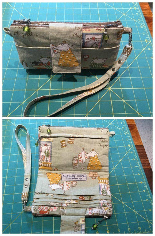 Emzed Foldover Clutch Wallet Free Pattern Bags To Sew