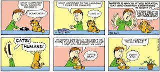 Past Simple A Comic Strip Garfield Pasado Simple Ingles Comics De Garfield Garfield Y Sus Amigos