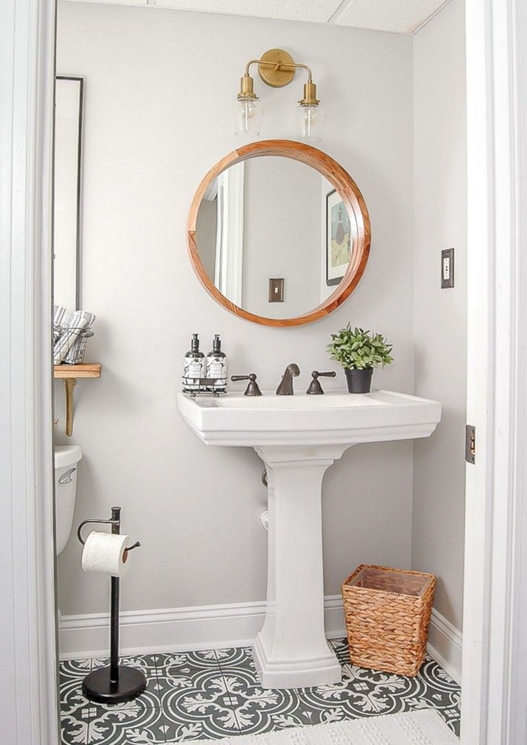 50 Awesome Modern Vintage Bathroom Decor Ideas You Just Need To Think About The Decor And The Facilities That You Are Likely To Provide Thus The Majority Of