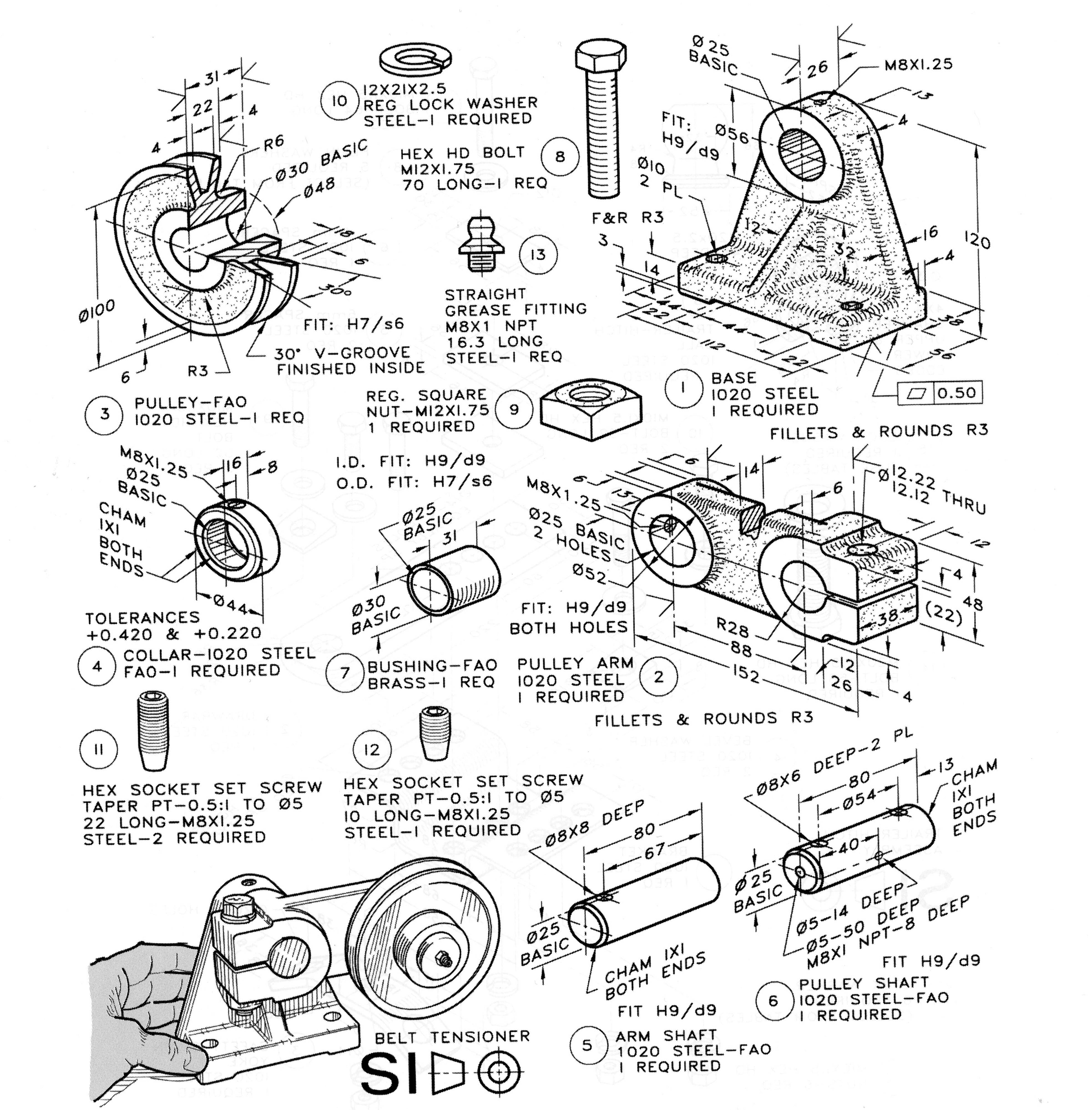 Bicicleta Dibujada Mecanica 15 X Dumielauxepices