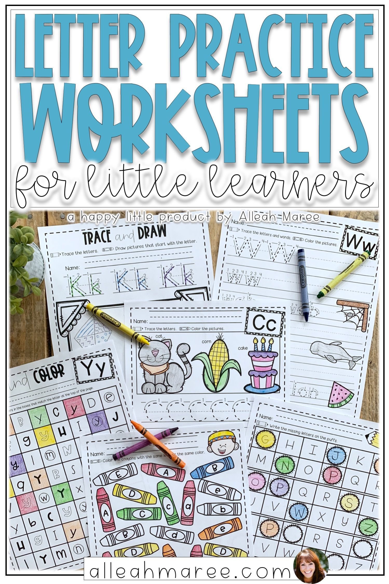 Alphabet Letter Formation And Writing Practice Worksheets