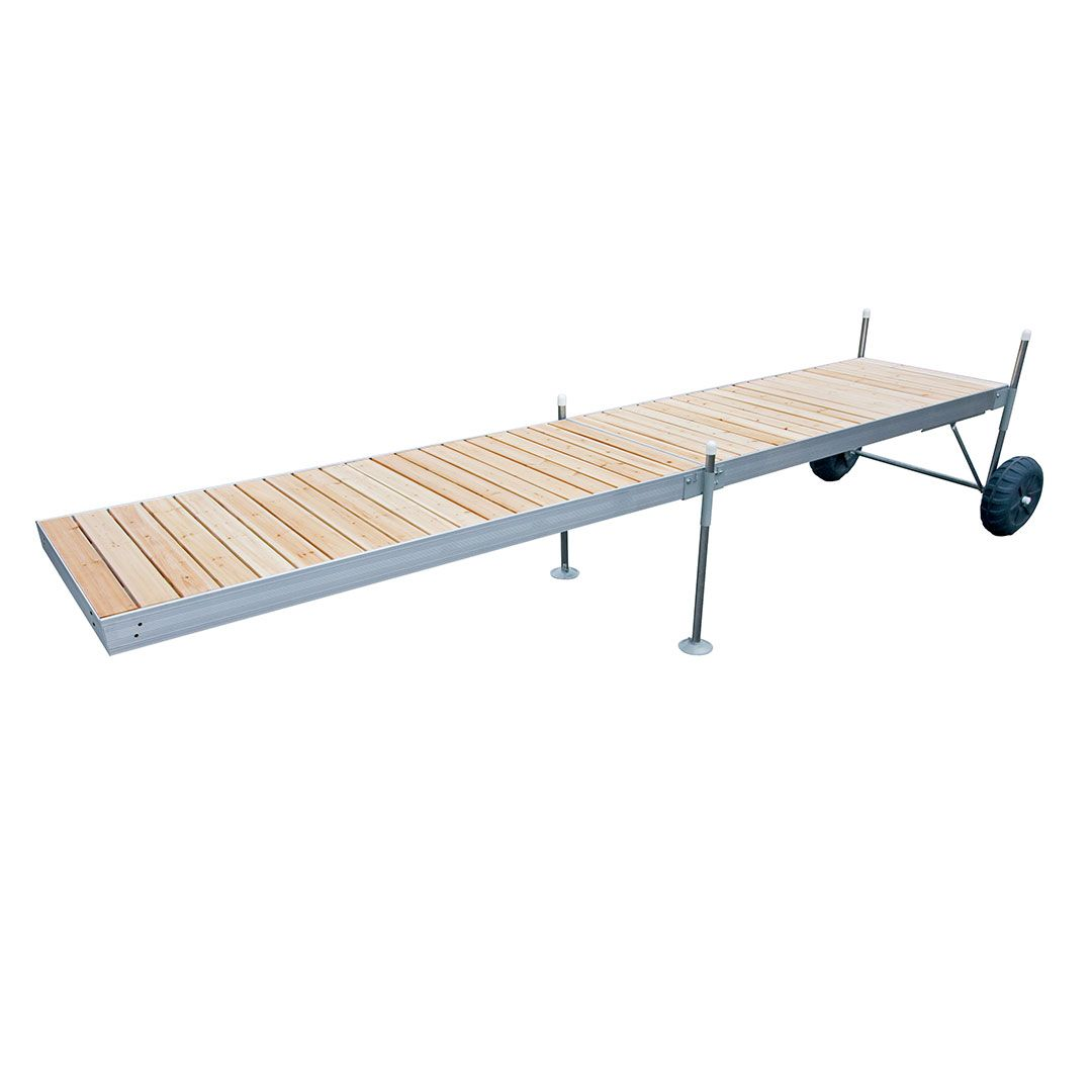 Everything You Need To Build A 20 Roll In Dock Aluminum Frame W