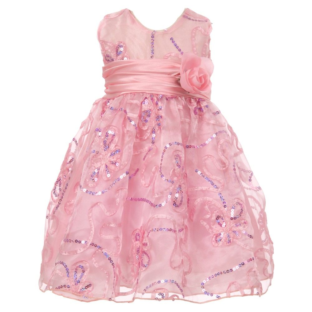 A stylish flower girl easter dress for your little girl with