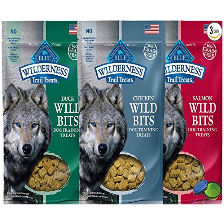 Blue Buffalo Wilderness Trail Treats Grain Free Wild Bits Dog