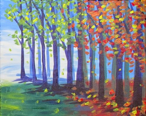 Paint Nite Raleigh | World of Beer-Cary September 9, 2015