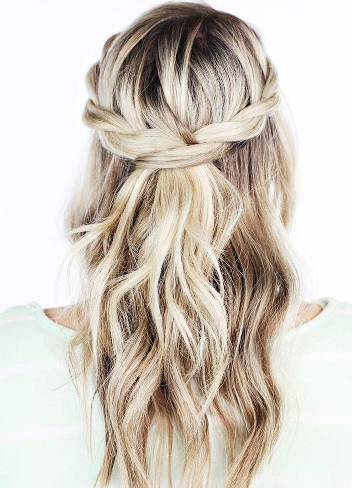 5 Minute Hairstyles For Medium Length Hair Wedding Hair Down Long Hair Styles Hair Lengths