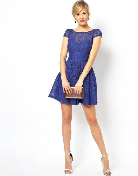 Modelo de vestidos cortos para matrimonio