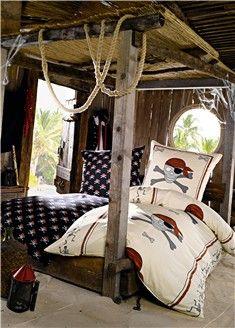 pirates et corsaires housse de couette pour enfant accessoires et d coration pour la chambre. Black Bedroom Furniture Sets. Home Design Ideas