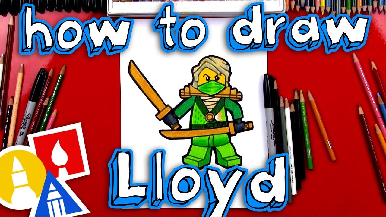 How To Draw Lloyd From Ninjago in 2019 Art for kids hub