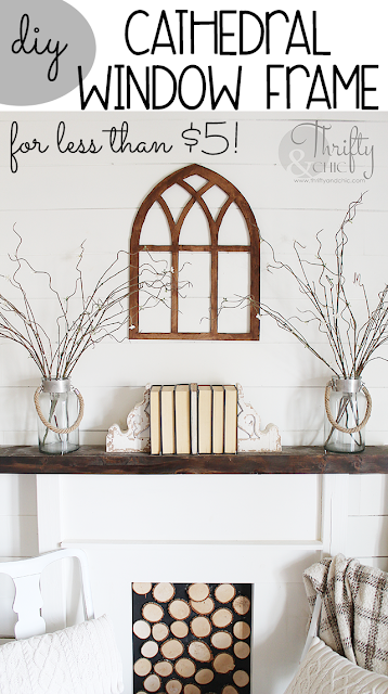 Diy Cathedral Window Frame For Less Than 5 Best Of Thrifty And