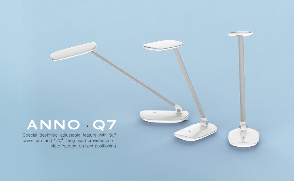 Anno Q7 LED Foldable Table Lamp with USB Port