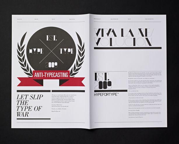 TYPOGRAPHIC REVOLT (EDITION #1)