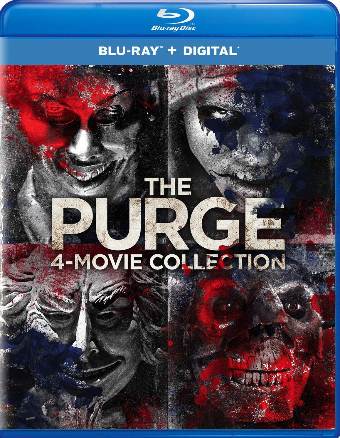 the purge 4-movie collection blu-ray set (universal studios