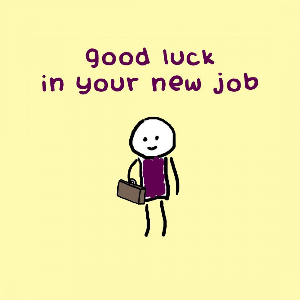Good Luck In Your New Job Picture Job Related New Job Quotes