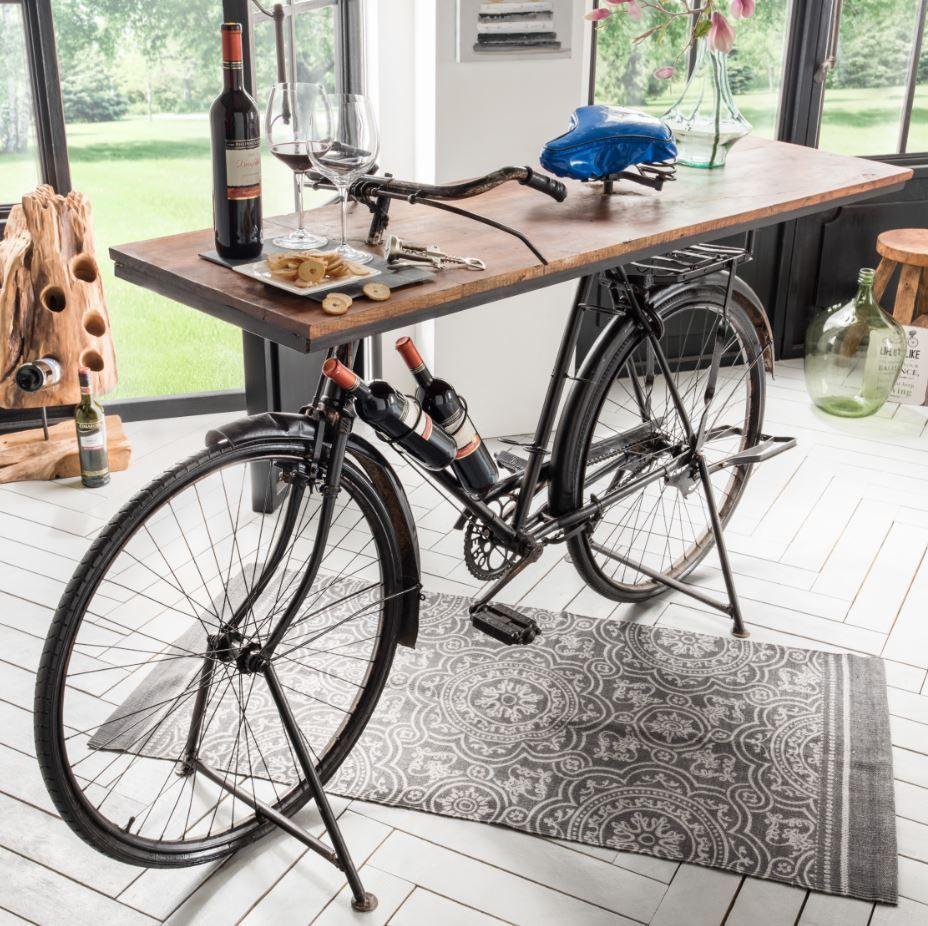 fahrrad tisch in 2019 bar pinterest. Black Bedroom Furniture Sets. Home Design Ideas