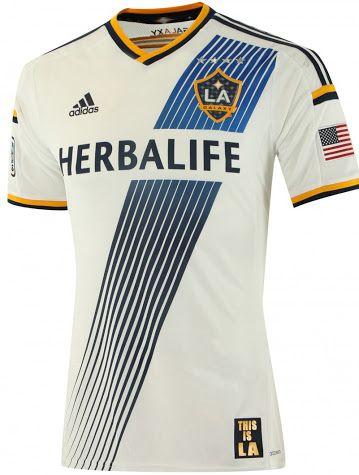 Download La Galaxy 2014 Home Shirt Released Footy Headlines Sport Shirt Design Sports Jersey Design Soccer Shirts