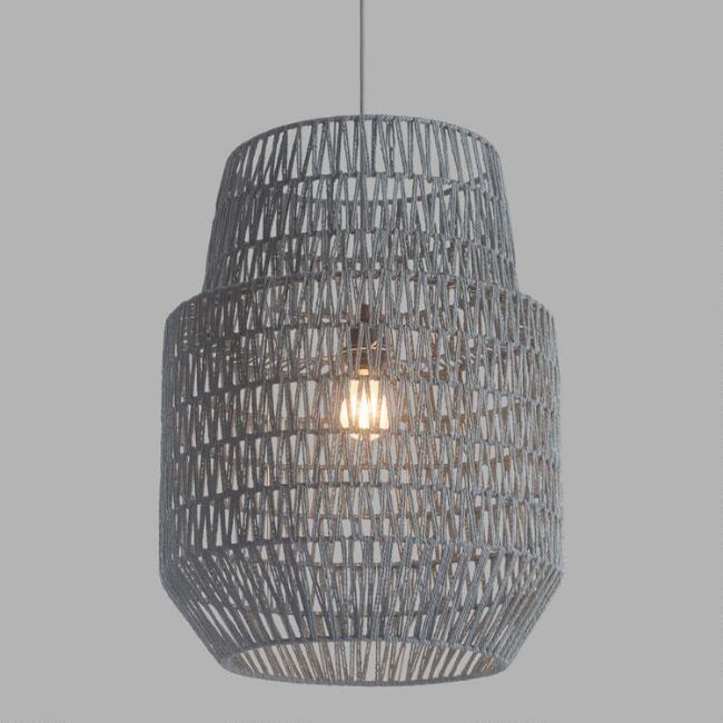 Gray Two Tier Daydream Pendant Lamp - V1