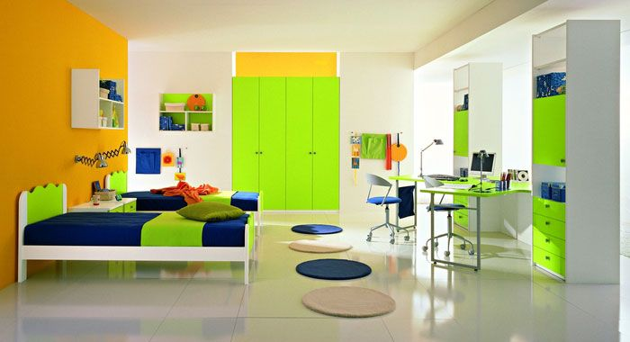 cool yellow and green boys bedroom ideaszg group | boys