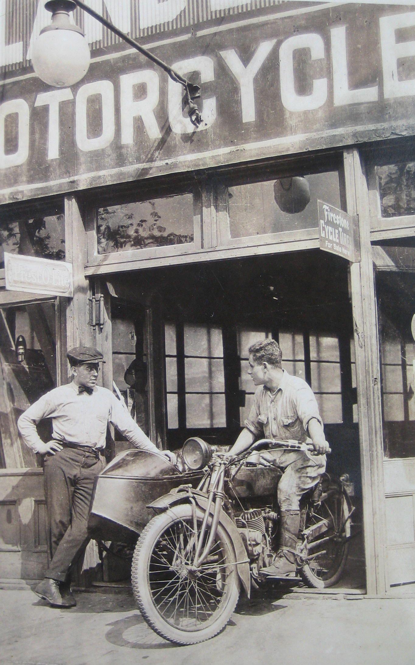 Bronx Car Dealers >> Vintage Indian motorcycle. Coming out of the shop, Bronx NY | Indian motorcycle, Vintage indian ...