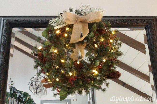 Diy Wreath Hanger Tutorial Diy Wreath Hanger Wreath Hanger Diy Wreath