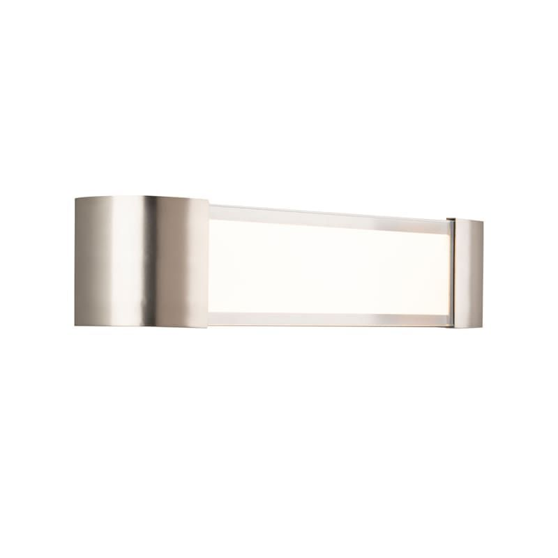 Photo of WAC lighting WS-36022 Melrose LED violent vanity or wall light nickel …