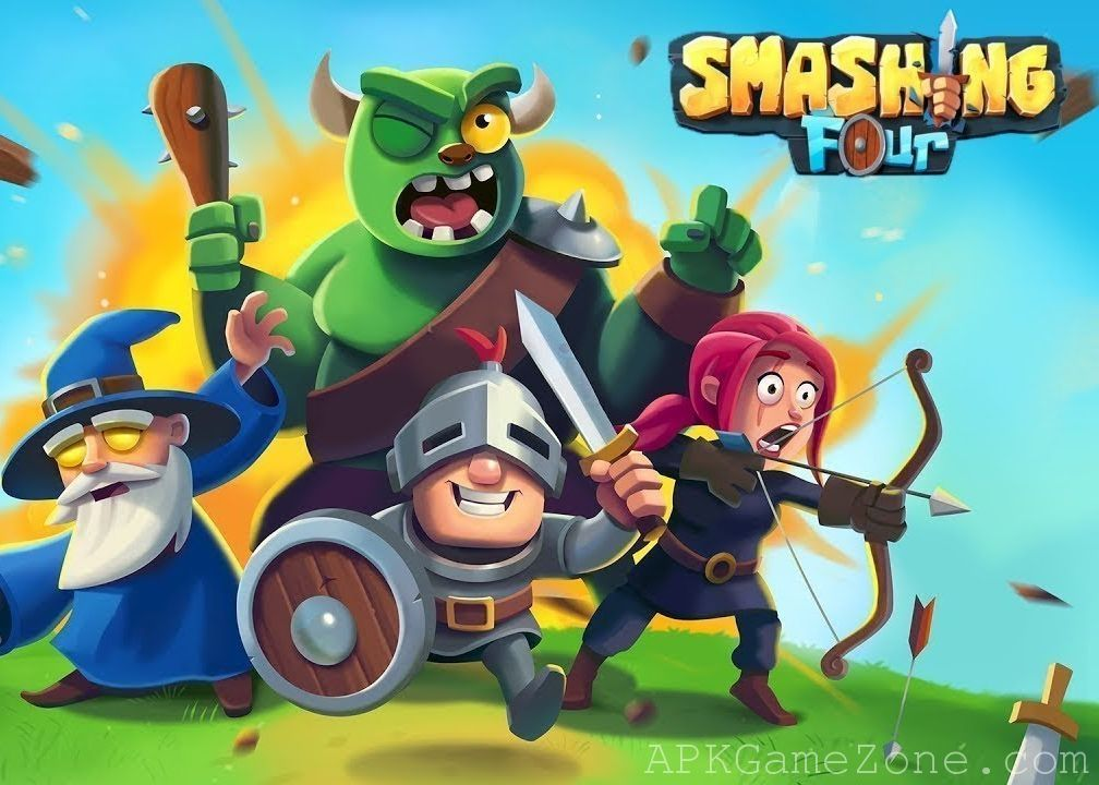Smashing Four Vip Mod Download Apk With Images Point Hacks