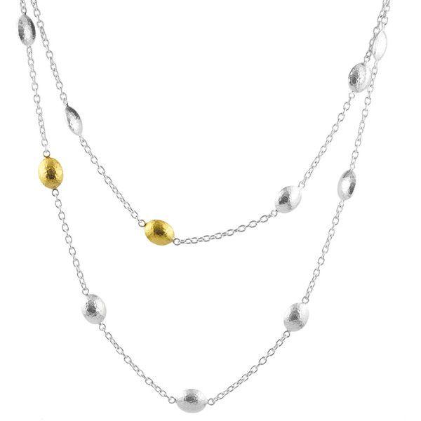 Gurhan Long Jordan Station Necklace By2KxyB