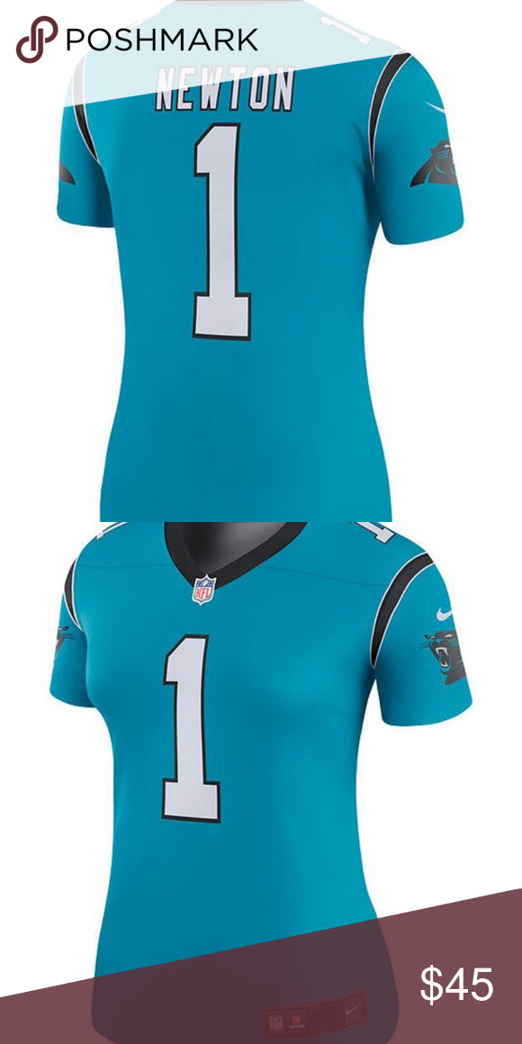 the best attitude 37178 8ff03 Ladies Carolina Panthers color rush Jersey size SP This is ...