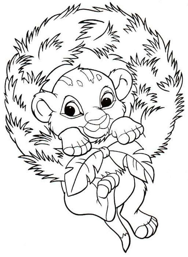 Dibujos de Navidad para colorear de Disney | ari