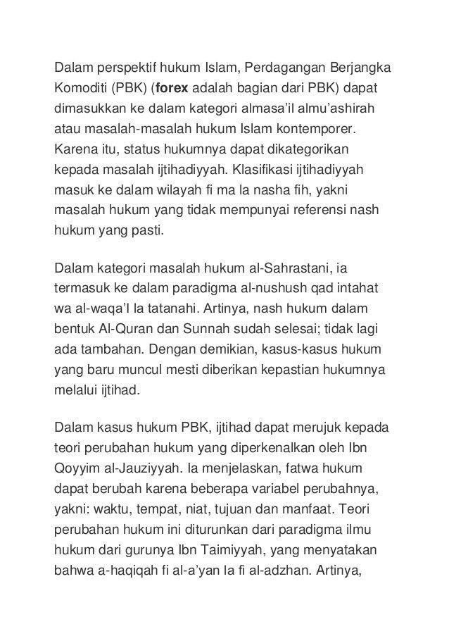 Forex menurut islam лучший скальпинг на форекс