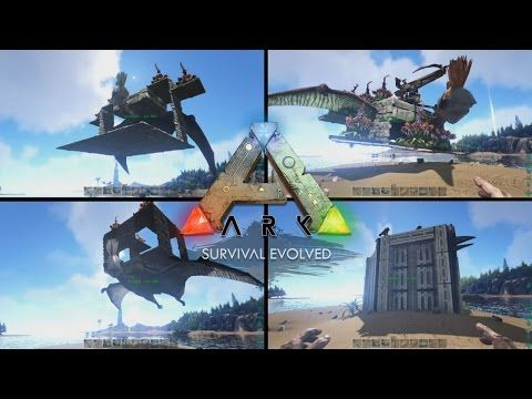 Top 4 quetzal platforms ark survival evolved youtube ark how to build and how to use the best platforms for the quetzal in ark survival evolved official server no mods quetzalcoatlus saddle techniques and malvernweather Choice Image