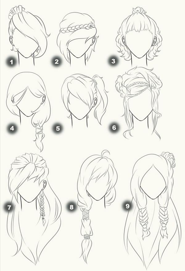 une lection de modles cheveux